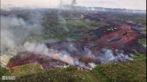 News video: New Footage Shows Unbelievable Hawaiian Lava Flow