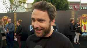 News video: Charlie Day Only Wants Originals At 'Hotel Artemis' Premiere