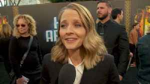 News video: Jodie Foster Plays Nurse For 'Hotel Artemis'