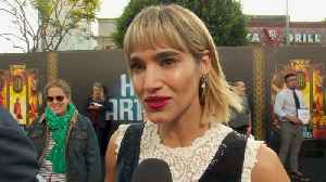 News video: Sofia Boutella And Female Empowerment At 'Hotel Artemis' Premiere