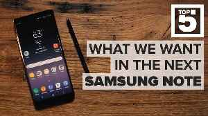 News video: Samsung Galaxy Note 9: The features it needs to succeed