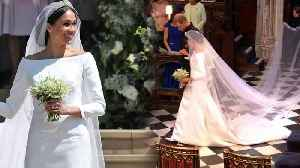 News video: Breaking Down Meghan Markle's $270,000 Givenchy Wedding Dress