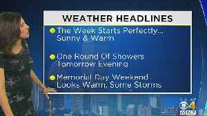 News video: WBZ Morning Forecast For May 21