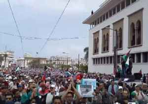 News video: Thousands of Moroccans March in Solidarity With Palestine in Casablanca