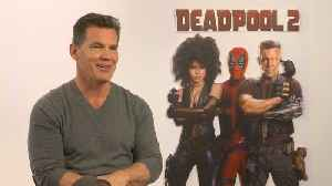 News video: Exclusive Interview: Josh Brolin nearly declined 'Deadpool 2' role