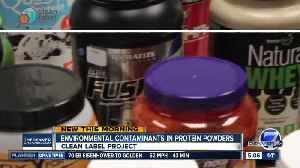 News video: Tests find potential toxins in popular protein powders