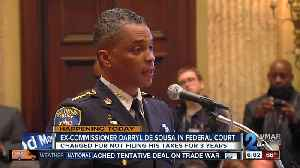 News video: De Sousa to face Federal judge Monday on tax charges