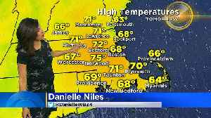 News video: WBZ Mid Morning Forecast For May 21, 2018