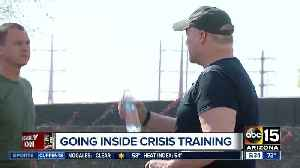 News video: Going inside crisis training for Valley officers