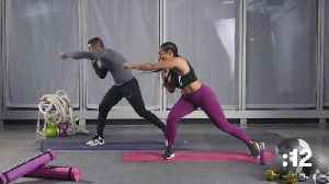 News video: Next Level Booty Building Lunge and Squat Strength Workout