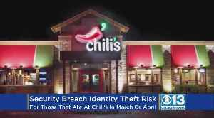 News video: Chili's Discovered Data Breach That Compromised Customer Payment Info