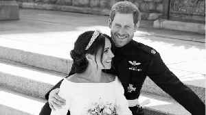 News video: Prince Harry and Meghan Markle's Official Wedding Photos Are Here