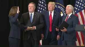 News video: Gina Haspel sworn in as CIA Director