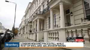 News video: London Lags as Housing Prices Fall