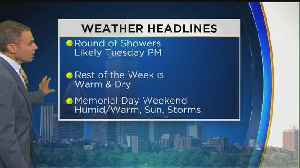 News video: WBZ Midday Forecast For May 21