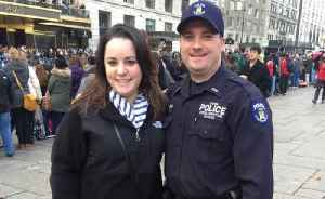 News video: Two off-duty NYPD cops, one of them newly married, killed when car smashes into tree