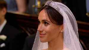 News video: Learn the Secrets Behind Creating Meghan Markle's Messy Bun and Her Showstopping Wedding Dress!