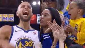 News video: Steph Curry SCOLDED by HIS MOM for Dropping F Bombs During Game
