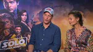 News video: 'Solo: A Star Wars Story': Exclusive Interview with Woody Harrelson & Thandie Newton