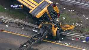 News video: CBS2 Speaks To Son Of Doomed School Bus Driver