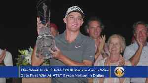News video: This Week In Golf: Aaron Wise Wins First On Tour At AT&T Byron Nelson