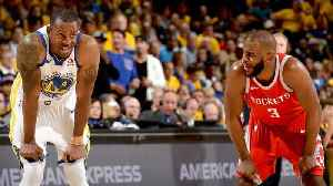 News video: Warriors Forward Andre Iguodala Doubtful for Game 4 With Knee Soreness