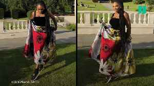 News video: Serena Williams Wore Sneakers To the Royal Wedding After-Party