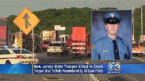 News video: New Jersey State Police Trooper Killed In Crash