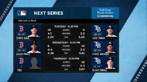 News video: Rays return home to host Red Sox