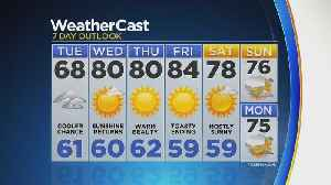 News video: Wet Tuesday Mars Otherwise Sunny Week