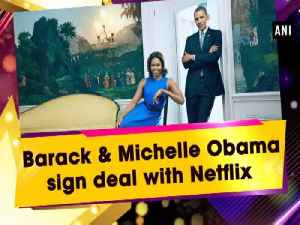 News video: Barack & Michelle Obama sign deal with Netflix