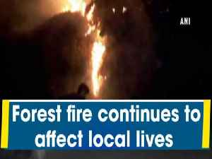 News video: Forest fire continues to affect local lives