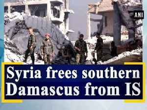 News video: Syria frees southern Damascus from IS