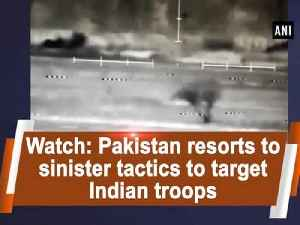 News video: Watch: Pakistan resorts to sinister tactics to target Indian troops