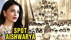 News video: Aishwarya Rai Bachchan Posts School Pics On Instagram, When She Was Of Aaradhya's Age