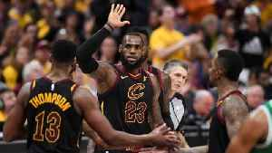 News video: LeBron, Cavs send East finals back to Boston tied