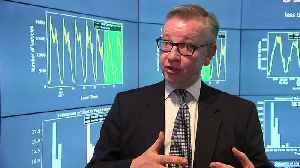 News video: Michael Gove on breaching the EU's air pollution standards