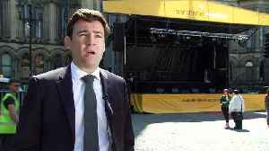News video: Andy Burnham: Manchester is