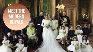 News video: Royal wedding portraits: Everything to know