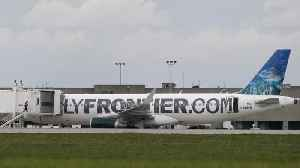 News video: Frontier Airlines Makes Emergency Landing Due To Strange Odor