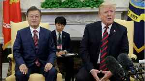 News video: Trump to Meet South Korea's Moon With North Korea Summit Hanging in the Balance