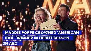 News video: Maddie Poppe Crowned 'American Idol' Winner in Debut Season on ABC