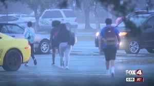 News video: New security measures in place at Collier Schools
