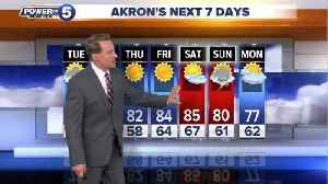 News video: Akron weather forecast
