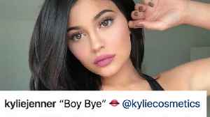 "News video: Kylie Jenner SHADES Travis Scott With Lipstick: ""Boy Bye!"""