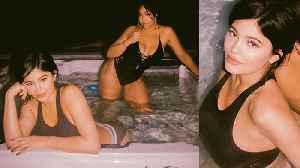 News video: Kylie Jenner Shows Off Post Baby Body In STEAMY Hot Tub Pics