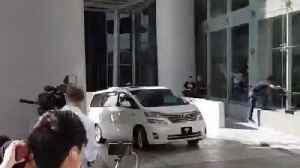News video: Former Prime Minister Najib Razak Questioned by Anti-Corruption Commission