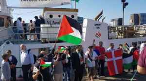 News video: Activists Set Sail From Copenhagen in Attempt to Break Gaza Blockade
