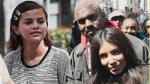 News video: Kim Kardashian & Selena Gomez Join 'March For Our Lives': Which Other Celebs Were There?