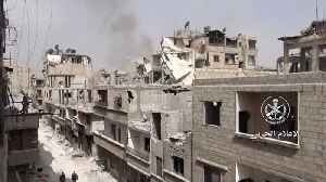 News video: The Syrian Government Has Regained Control Of Its Capital City